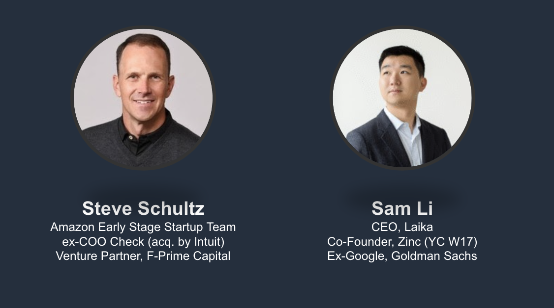 Laika Founder Sam Li speaks as Compliance Expert on YC Panel
