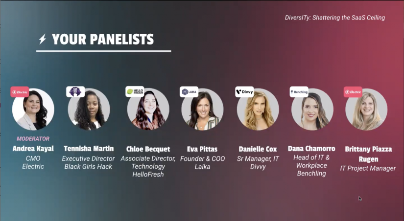 Talking about DiversITy: Shattering the SaaS Ceiling